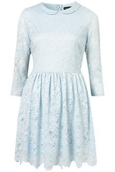 Crochet Collar Lace Dress - Topshop        Price: £48.00