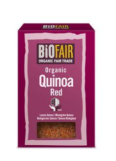 BiOFAIR Organic Quinoa Grain - Red 500g - Fair Trade