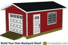 12 x 14 x 16 x 18 x 20 x 22 x 24 shed plans shed plans for 18 x 20 garage plans