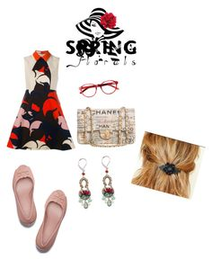 """""""In Print"""" by scope-stilettos ❤ liked on Polyvore featuring Chanel, Ayala Bar and Delpozo"""