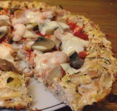 1 REFLEJO EN EL ESPEJO + #VIVESANO +: Pizza proteica III (base tofu-atun)