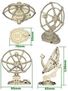 Dish Antennae (x2) Data