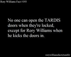 Submitted by anonymous. Tardis Door, Steven Moffat, Rory Williams, Anonymous, Doctor Who, It Hurts, Geek Stuff, Comic Books, Jokes