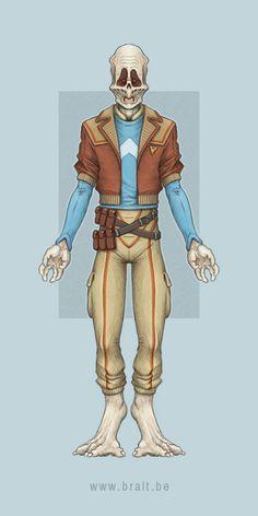 Givin Smuggler/Pirate | Star Wars Artists Guild