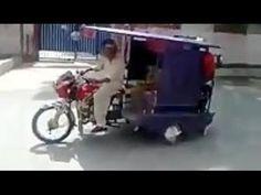 Rickshaw Stunt Fail - Funny Videos - http://positivelifemagazine.com/rickshaw-stunt-fail-funny-videos/