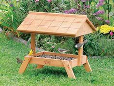 ground squirrel feeders | Home > Bird Feeders > Ground Feeder with Roof