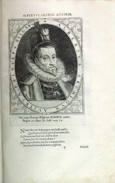 Albrecht VII. der Fromme, Erzherzog (1559-1621), Erzbischof von Toledo, Kardinal, 1596 Gouverneur der Niederlande
