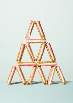 art direction | wafers pyramid - food styling still life photography