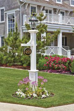 Photo Gallery: Lantern Posts   Outdoor Lamp Posts, Outdoor Post Lights, Outdoor Lighting, Outdoor Decor, Outdoor Projects, Garden Projects, Landscape Design, Garden Design, Driveway Lighting