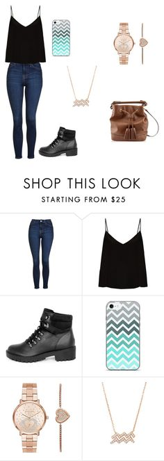 """""""cada dia"""" by clarallado on Polyvore featuring Topshop, Raey and Michael Kors"""