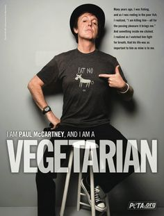 Been a vegetarian for years. Slipped a little lately but gettin' back to it. In my mind, I see that poor animals eyes. :-(