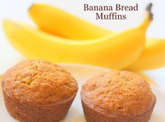 My So-Called (Mommy) Life: Banana Bread Muffins