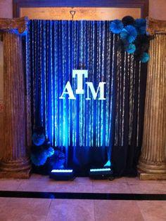 ATM backdrop