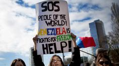 Sra. Spanglish Rides Again: Comprehensible Current Events: #SOSVenezuela