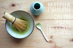 Our latest creation, healthy matcha salad dressing to suit your 2013 goals! Fruit Salad Recipes, Salad Dressing Recipes, Caramel, Green Tea Powder, Healthy Food Options, Tea Recipes, Cooking Recipes, Tea Infuser, Matcha Green Tea