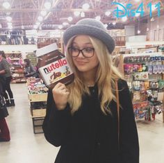 Olivia Holt Excited About Nutella Recipe Book
