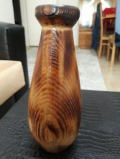 Volkan şanlı ahşap vazo