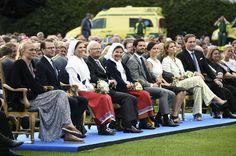 Swedish Royals attend Victoria's birthday - Victoriadagen concert