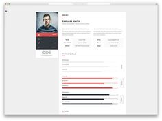 15 Best HTML5 vCard and Resume Templates For Your Personal Online Portfolio 2017 - Colorlib