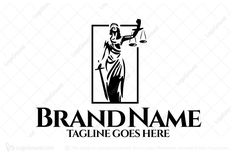 Logo for sale: Lady Law Logo