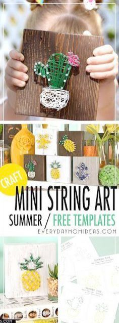 208 Best Summer images in 2019 | Activities for kids, Crafts for