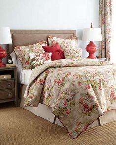-5WHS Rose Tree Bristol Bedding