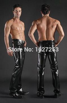 http://fashiongarments.biz/products/latex-jeans-rubber-sexy-men-rubber-jeans-army-jeans-not-including-the-belt/,     Material: 100% Latex/rubber  Thickness:  0.4mm Size :  (a) You could choose standard size– XS, S, M, L, XL, XXL. Make sure to tell us or leave message your Gender, Height, Weight and BWH(Bust, Waist, Hip) in advance!  (b) If you prefer the item suits you more perfect, please take measurement yourself according to the picture shows you how to measure and fill in the blank…