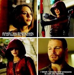 """#Arrow 3x23 """"My Name is Oliver Queen"""" - Thea & Oliver"""