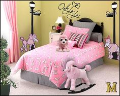 beautiful french little girls rooms | bedrooms - French bedroom decorating ideas Parisian Boudoir bedroom ...