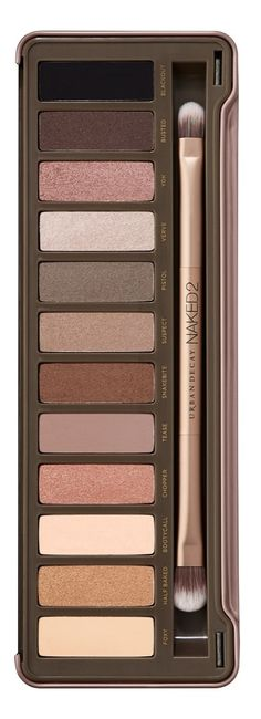 A beauty essential | Urban Decay \'Naked2\' palette.