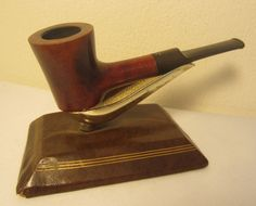 Ben Wade Selected Grain Straight Poker Style Estate Briar Tobacco Smoking Pipe