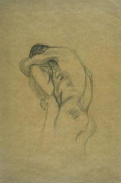Gustav Klimt, Embracing Couple, 1898-99