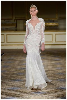 Wedding dress from the Berta 2016 Bridal Collection.