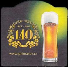 Czech Beer Coaster - Primator. Newly added on Colnect. @ http://colnect.com/aff/da_1/beer_coasters