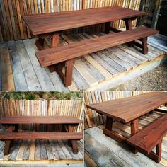 Finally a real solid wood outdoor table that can fold up. Made from Cryptomeria, this setting is light weight making it easy to move but built solid, unlike the traditional folding trestle tables. Timber Furniture, Outdoor Furniture, Custom Made Furniture, Folded Up, Rustic Interiors, Solid Wood, Trestle Tables, Indoor, Traditional