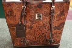 I love this leather Dooney and Bourke Disney handbag ♥