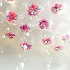 MEIDDING- 18 Inch Giant Clear Balloons+Confetti Balloons for Wedding/baby shower/birthday Party Decorations Bubblegum Balloons, Confetti Balloons, Helium Balloons, Clear Balloons, Balloon Decorations, Birthday Party Decorations, Birthday Parties, Balloon Ideas, Diy Y Manualidades