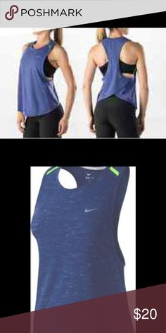 timeless design 7eaeb 182f2 Nike Womens Tailwind Running Tank New with tags Nike Tops Tank Tops  Running Tanks, Nike