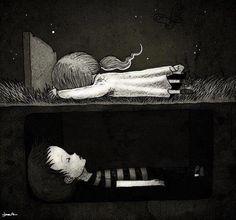 Sad drawing :(