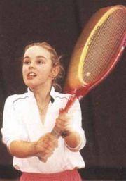 Tennis beginnings of Martina Hingis