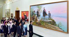 타도제국주의동맹결성 90돐경축 중앙미술전시회 개막