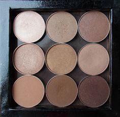 makeup geek neutral z palette brown shades