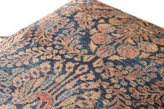 Angle Iron & Rug Ottoman - Sticks & Bricks