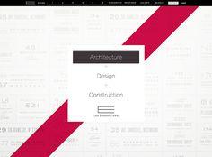 Programmation du site web de la firme d'architecture Les Ensembliers