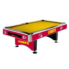 Kansas City Chiefs 8Ft Pool Table By Imperial