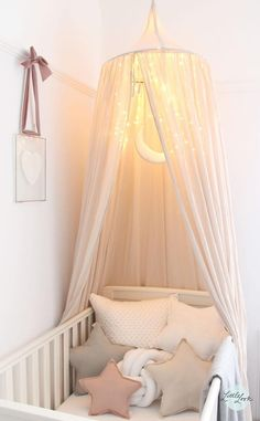 Baby Nursery Inspiration: 50 Wonderful Baby Nursery Ideas Looking to decorate your little one's nursery? Check out these adorable baby nursery inspiration and ideas that you can try at home. Baby Bedroom, Baby Room Decor, Nursery Room, Girl Nursery, Girl Room, Girls Bedroom, Nursery Decor, Nursery Ideas Girls, Budget Nursery