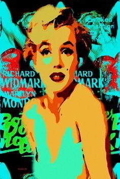 Saatchi Art: 26-Marilyn  Monroe. Painting by ACQUA LUNA
