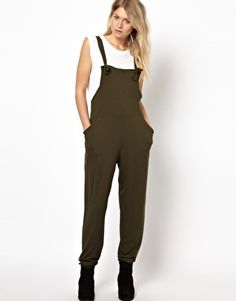 Image 1 of ASOS Overalls with Slouch Back Detail