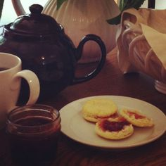 Strawberry Jam and tea