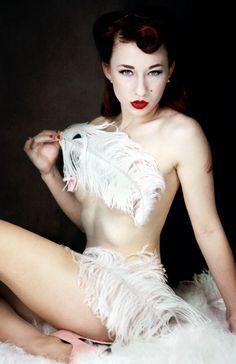 Lady Lace by Luke Milton #burlesque